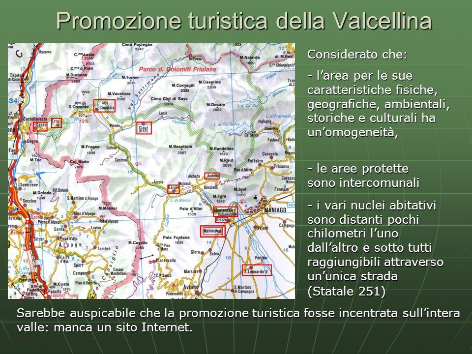 Promozione turistica della Valcellina