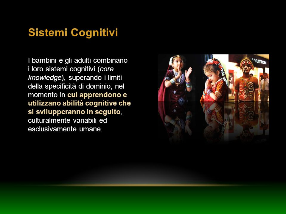 Sistemi Cognitivi