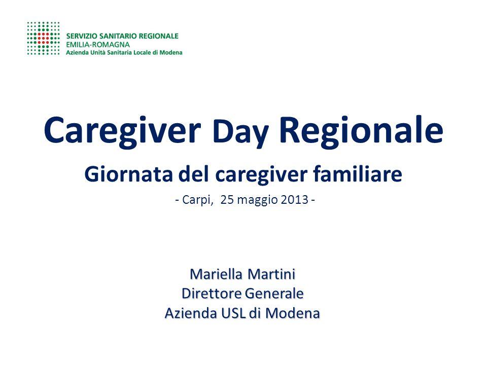 Caregiver Day Regionale Giornata del caregiver familiare