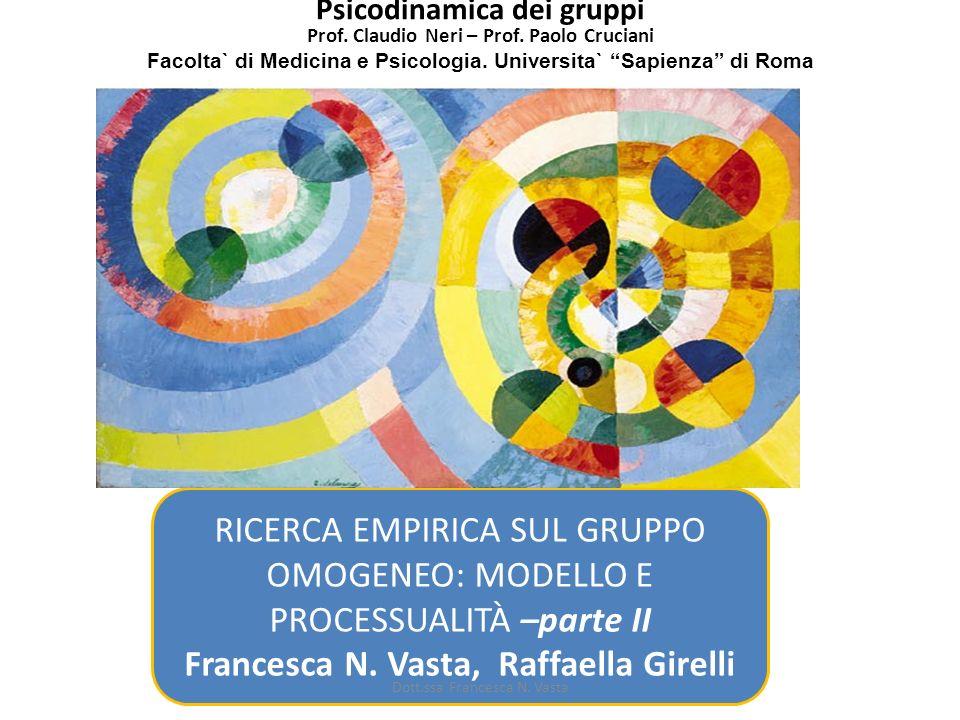 Francesca N. Vasta, Raffaella Girelli