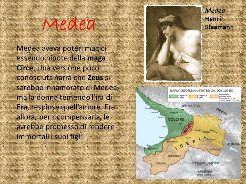 Medea Henri. Klaamann. Medea.