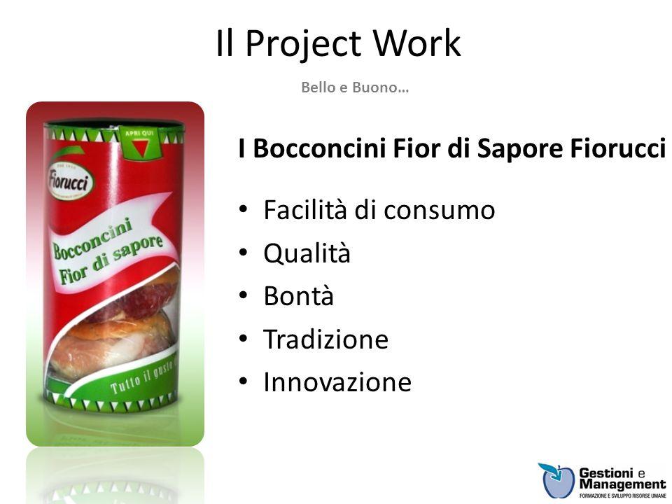 Il Project Work I Bocconcini Fior di Sapore Fiorucci