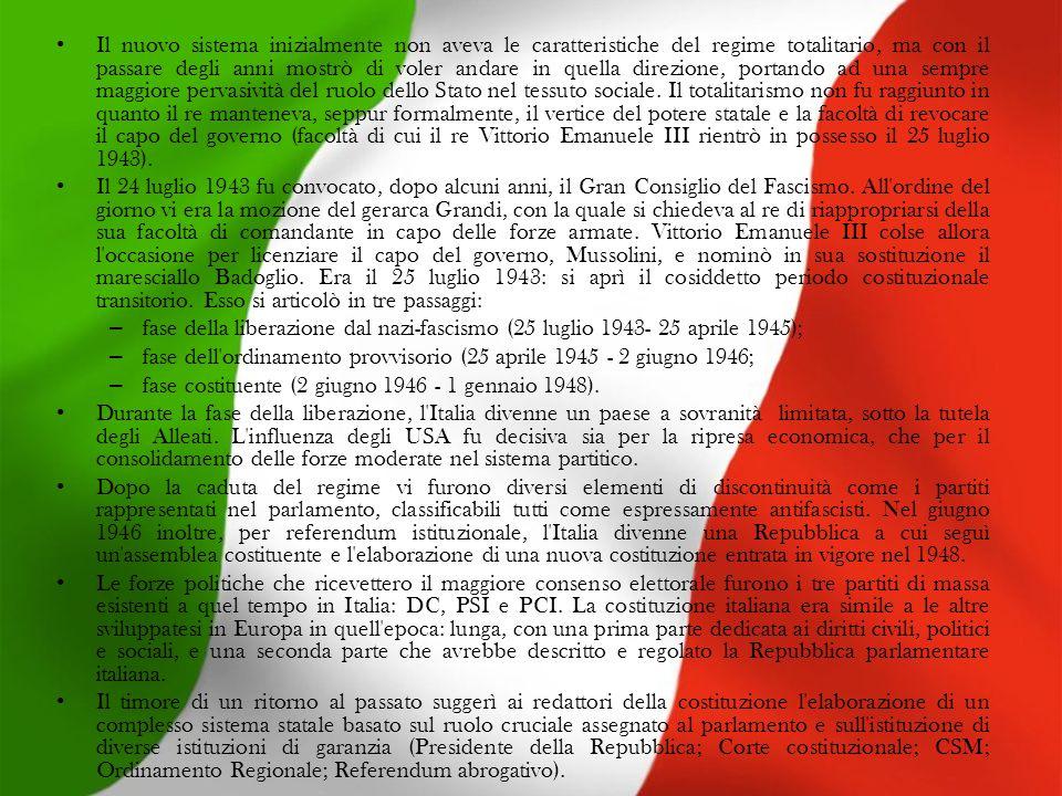 150 anni di italia e di italiani ppt scaricare for Repubblica parlamentare italiana
