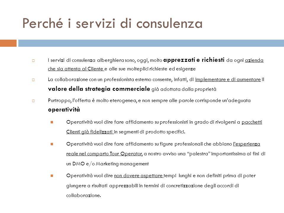 Perché i servizi di consulenza