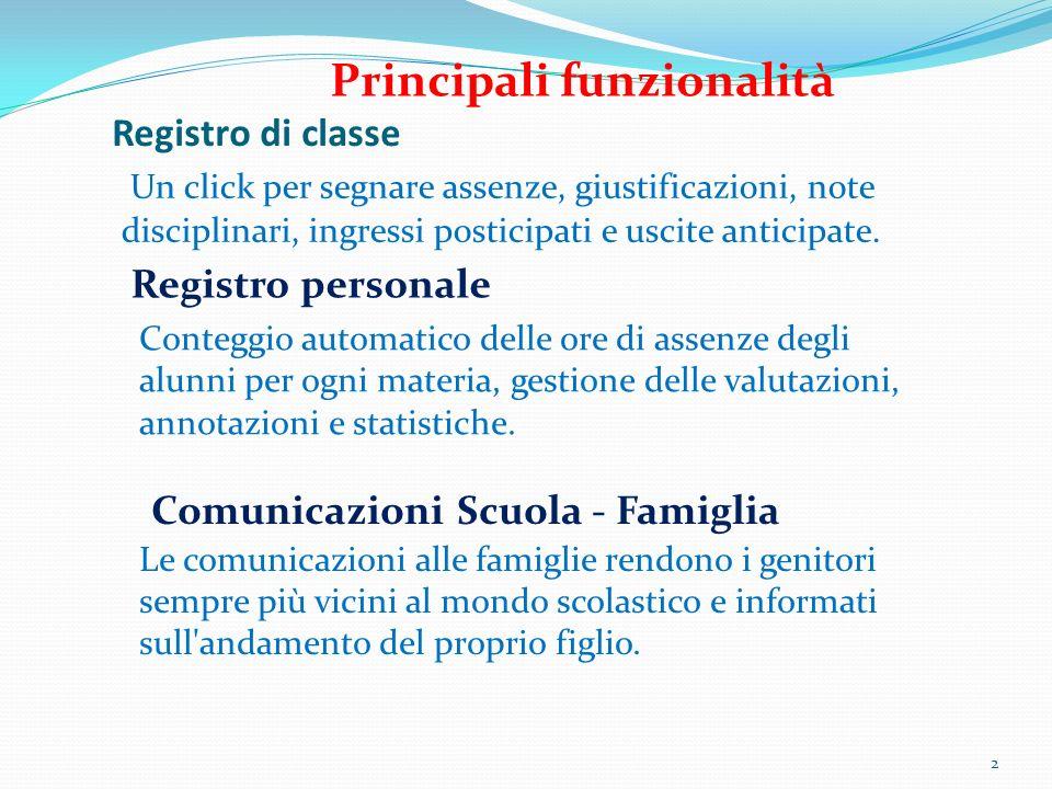 Comunicazioni Scuola - Famiglia