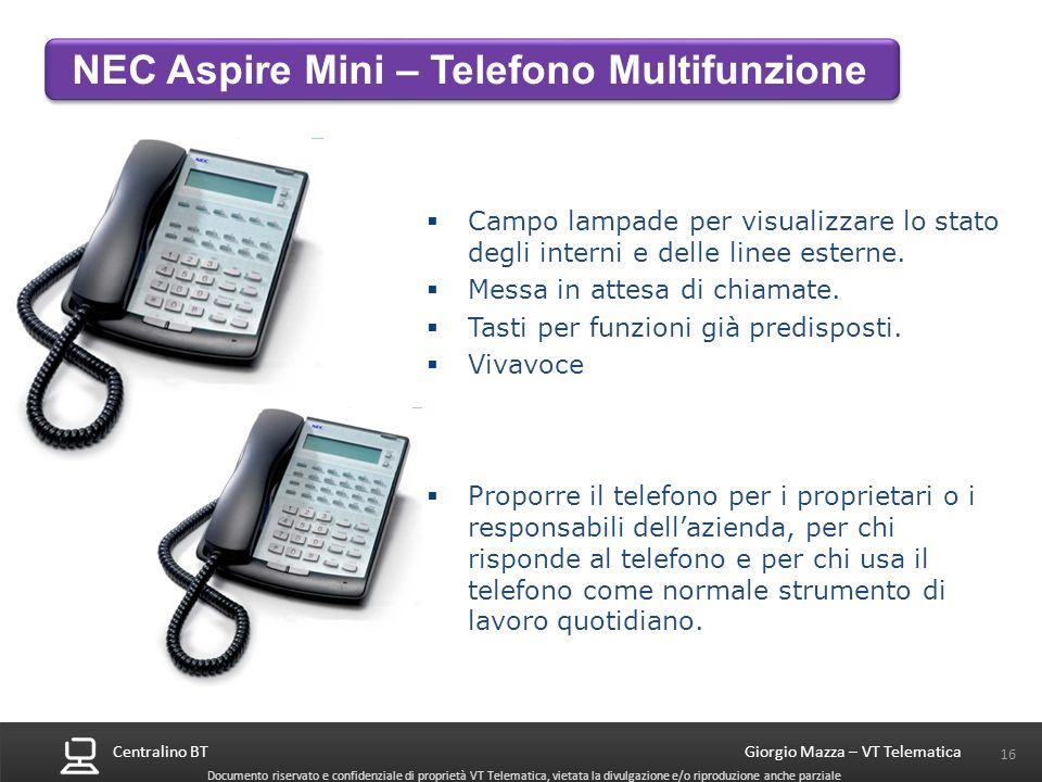 NEC Aspire Mini – Telefono Multifunzione