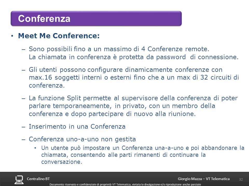 Conferenza Meet Me Conference: