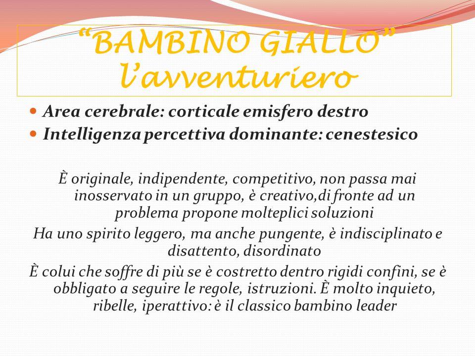 BAMBINO GIALLO l'avventuriero