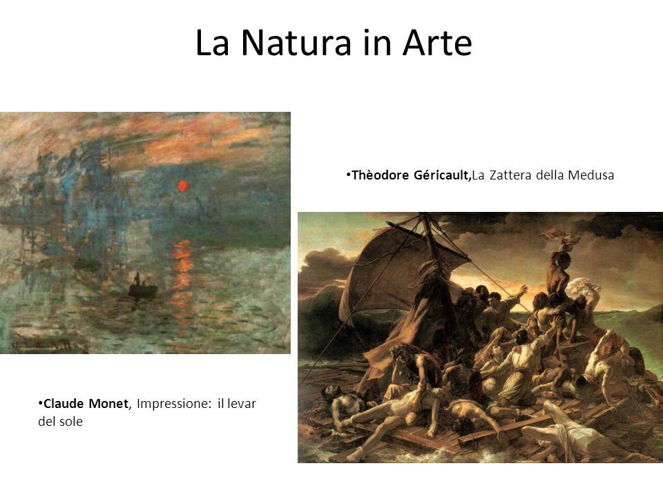 La Natura in Arte Thèodore Géricault,La Zattera della Medusa
