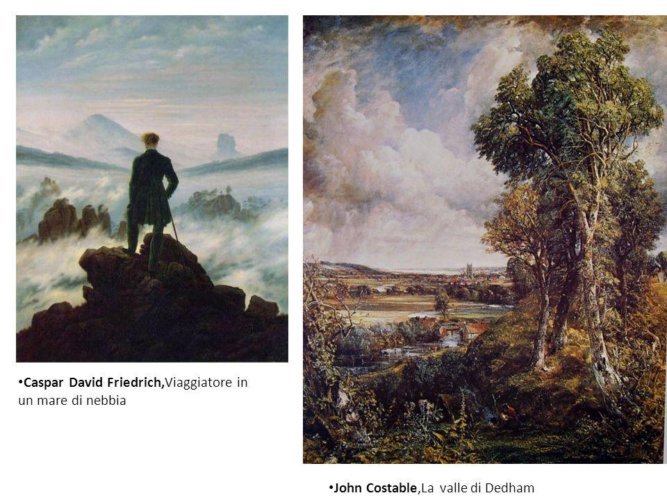 Caspar David Friedrich,Viaggiatore in