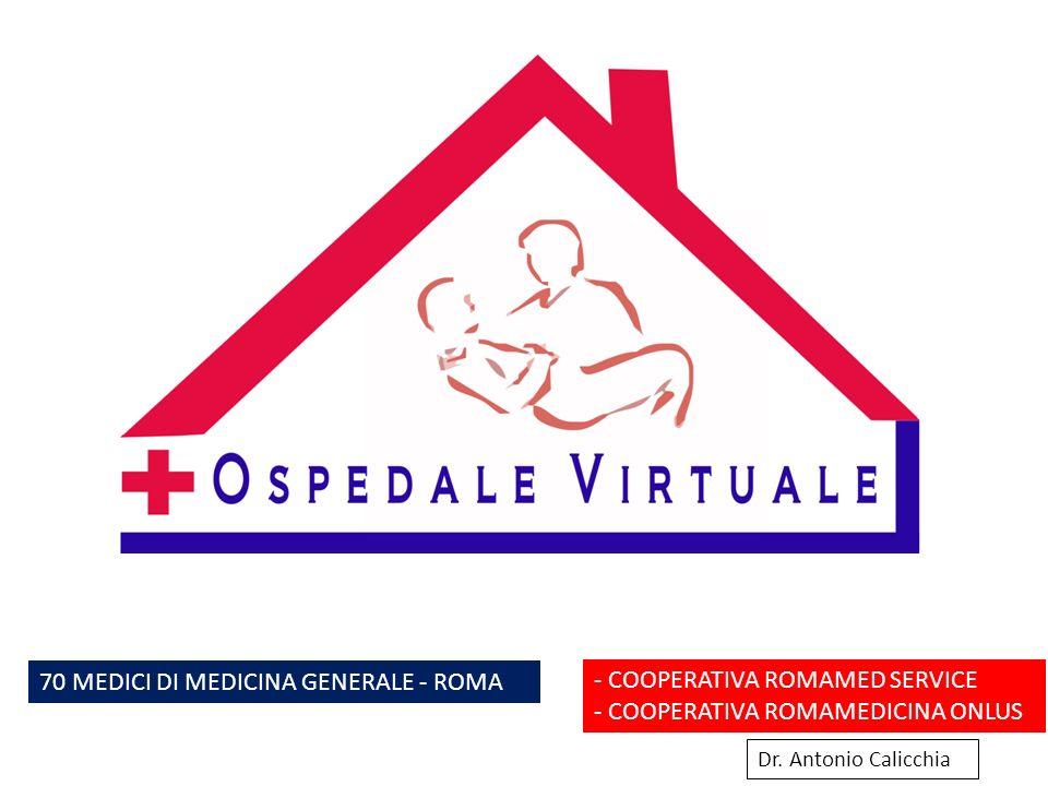 70 MEDICI DI MEDICINA GENERALE - ROMA - COOPERATIVA ROMAMED SERVICE