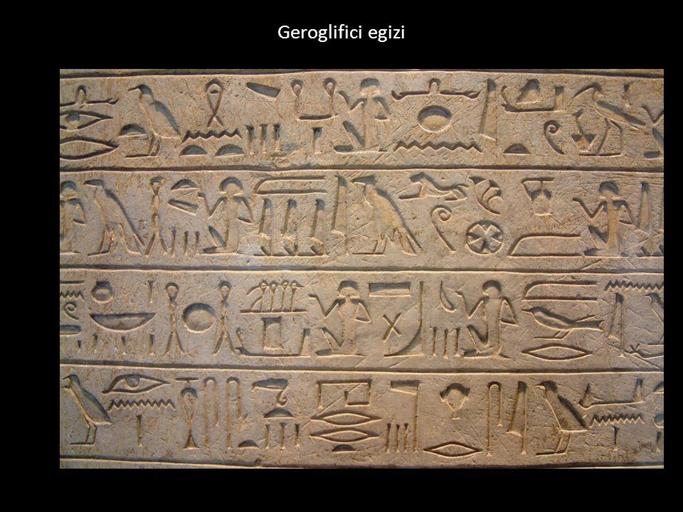 Geroglifici egizi
