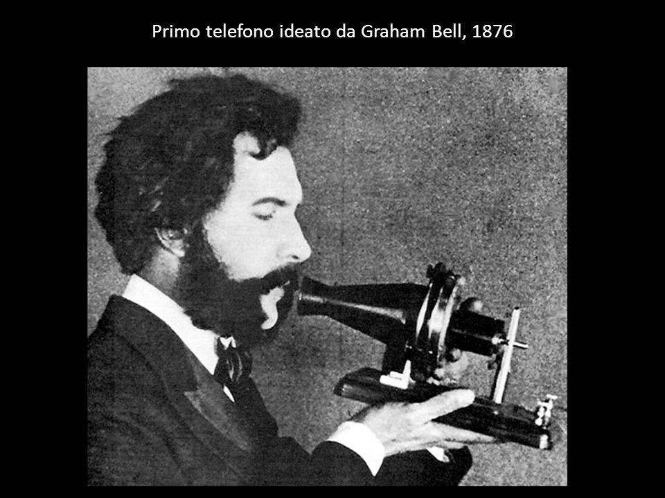 Primo telefono ideato da Graham Bell, 1876