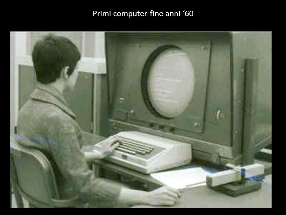 Primi computer fine anni '60