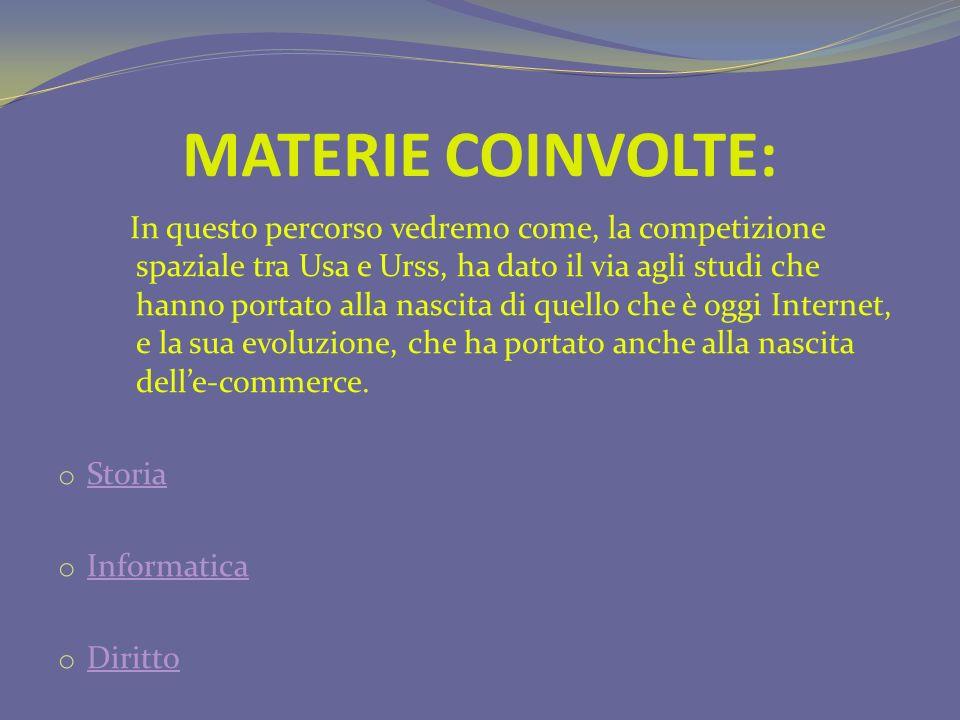 MATERIE COINVOLTE: