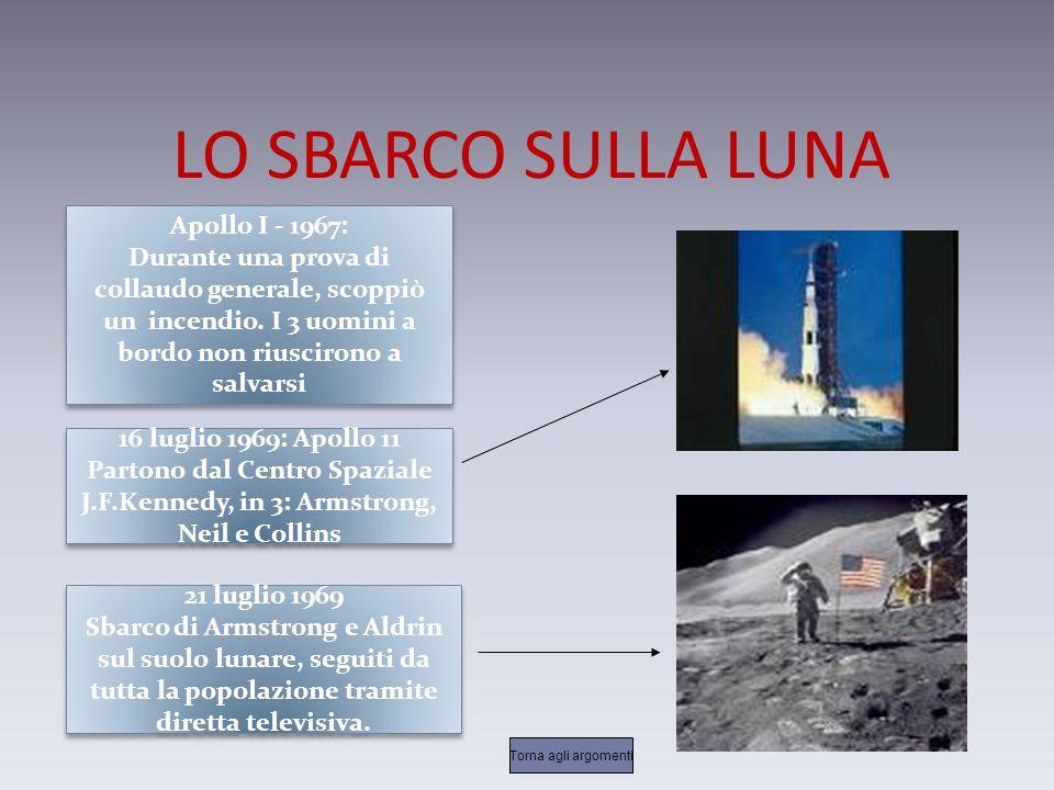LO SBARCO SULLA LUNA Apollo I - 1967: