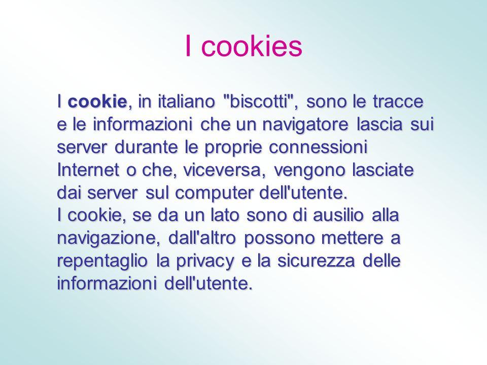 I cookies