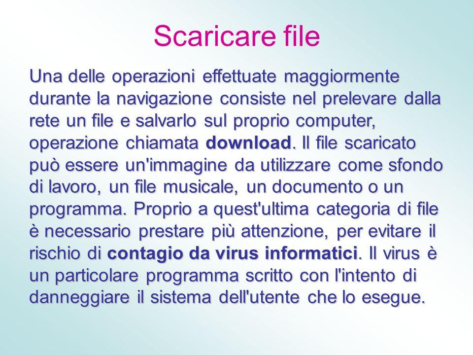 Scaricare file