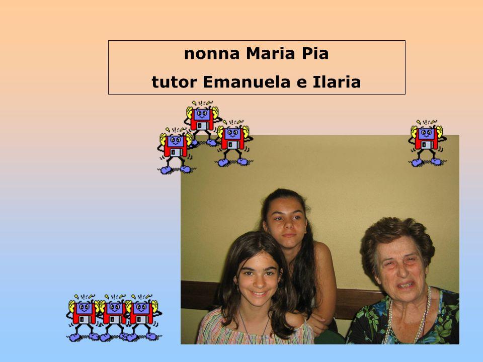 tutor Emanuela e Ilaria