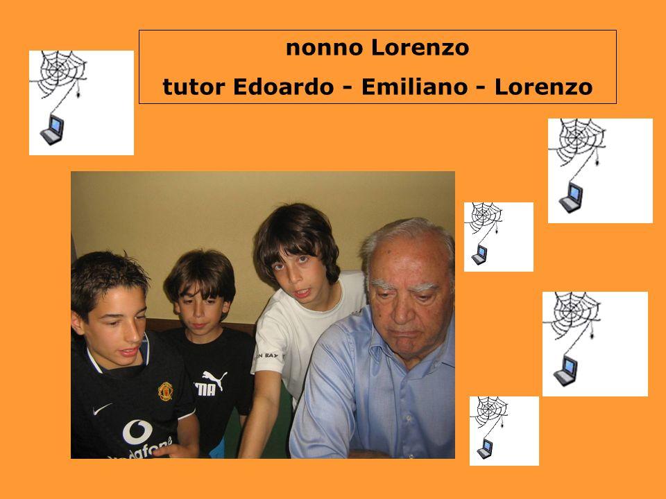 tutor Edoardo - Emiliano - Lorenzo