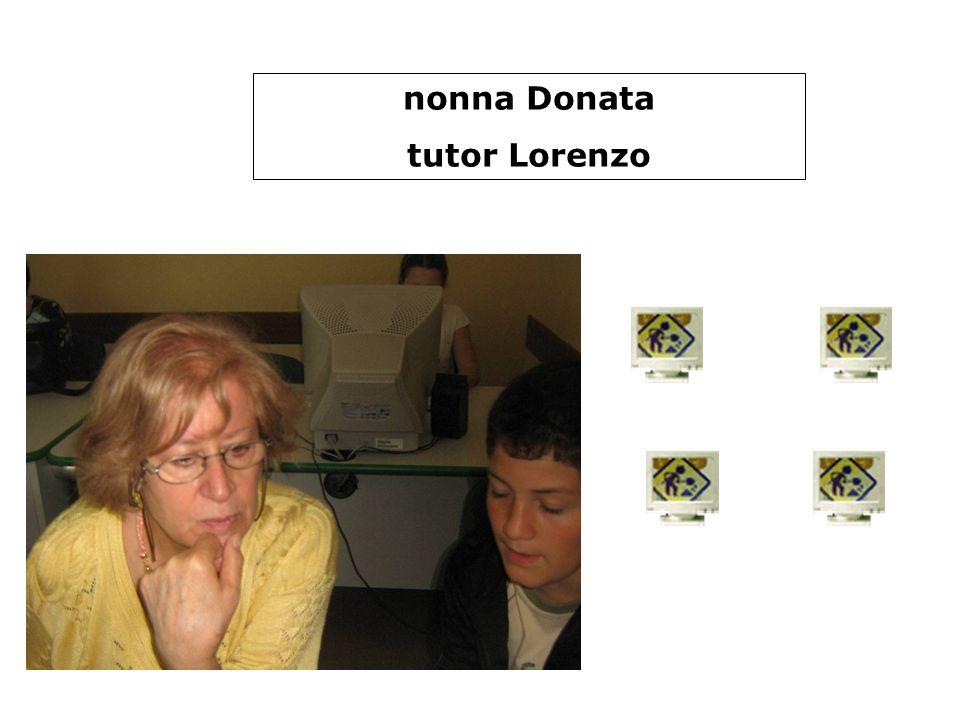 nonna Donata tutor Lorenzo