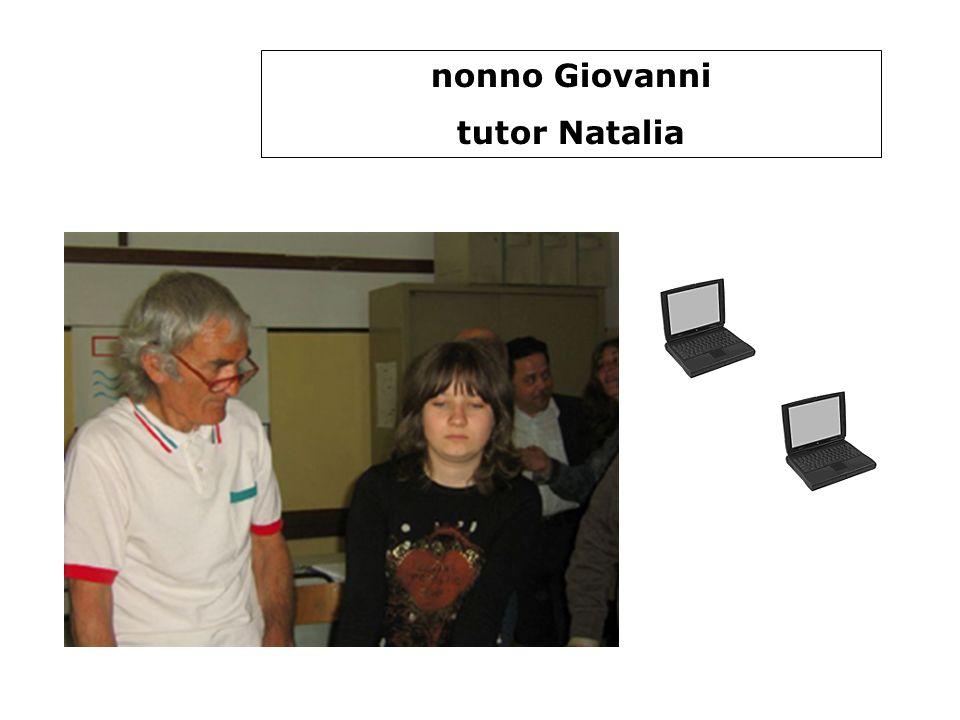 nonno Giovanni tutor Natalia