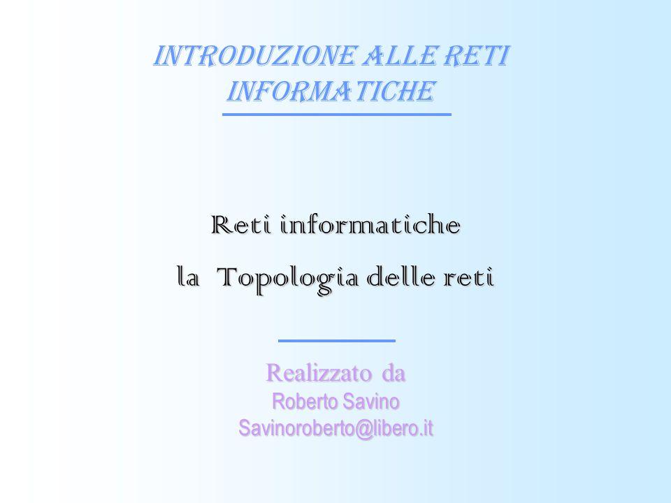Reti informatiche la Topologia delle reti