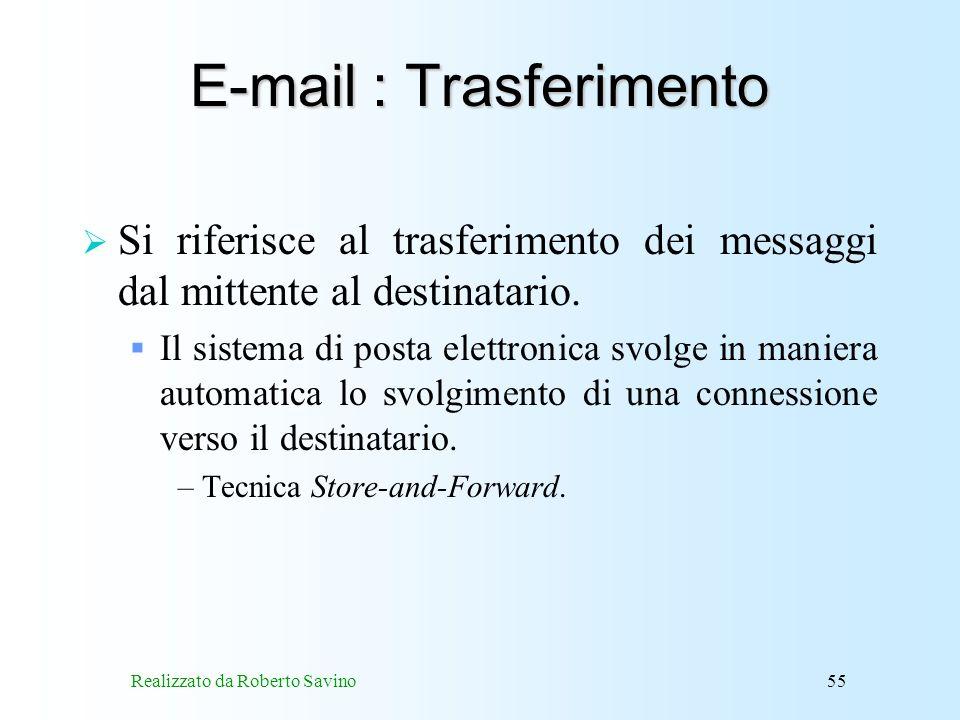 E-mail : Trasferimento