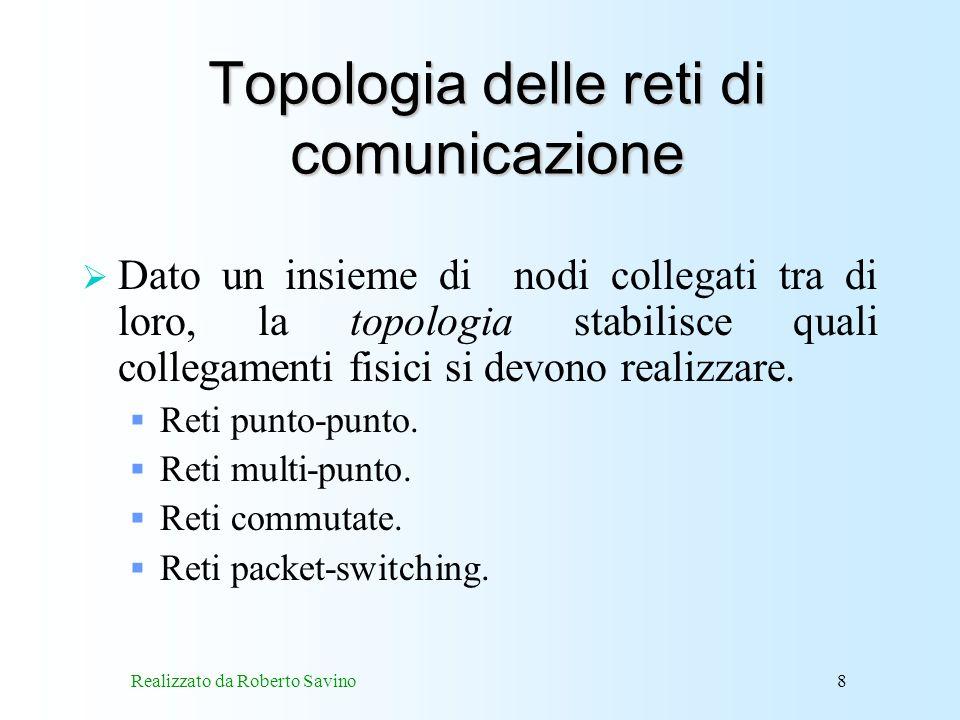 Topologia delle reti di comunicazione