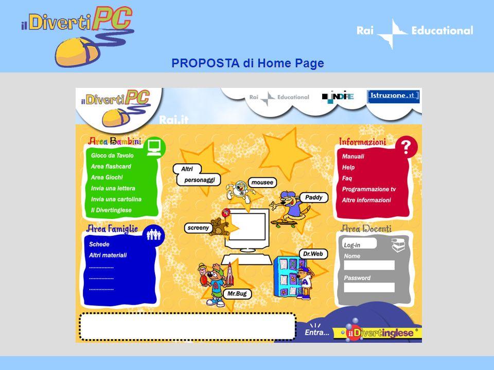 PROPOSTA di Home Page