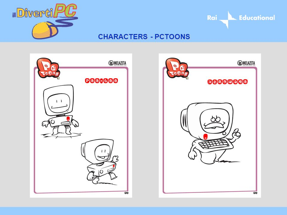 CHARACTERS - PCTOONS