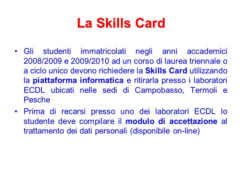 La Skills Card