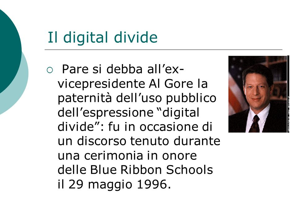 Il digital divide
