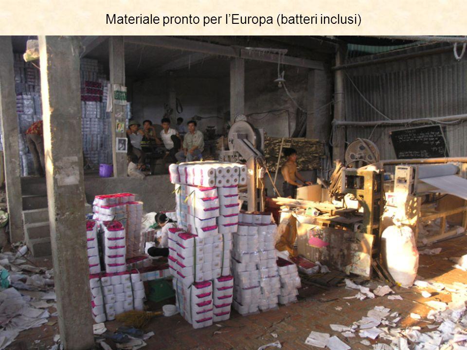 Materiale pronto per l'Europa (batteri inclusi)