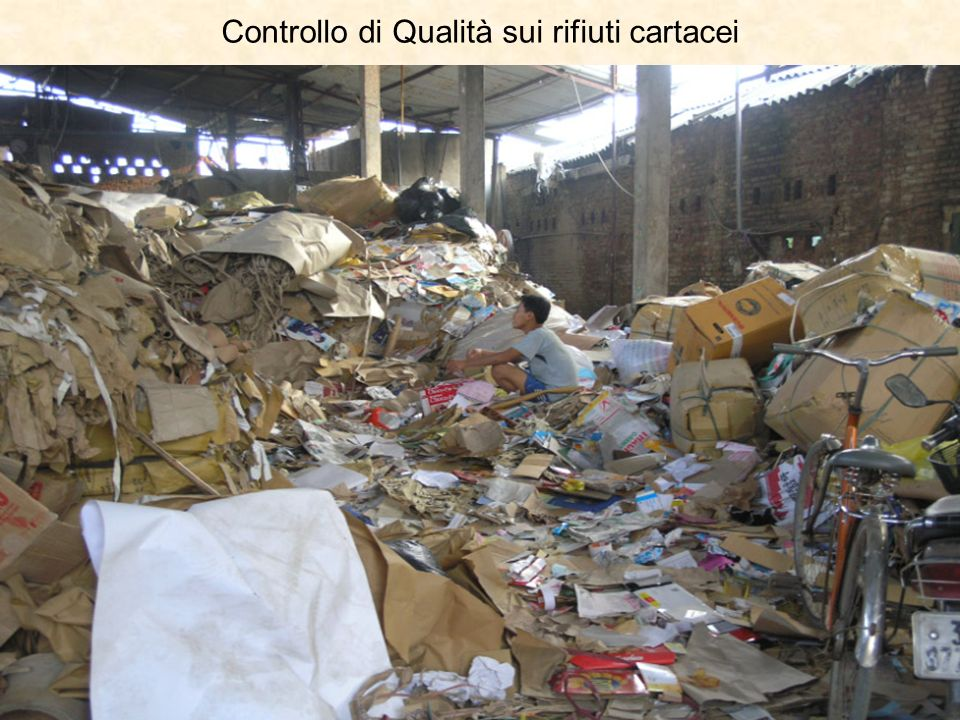 Controllo di Qualità sui rifiuti cartacei
