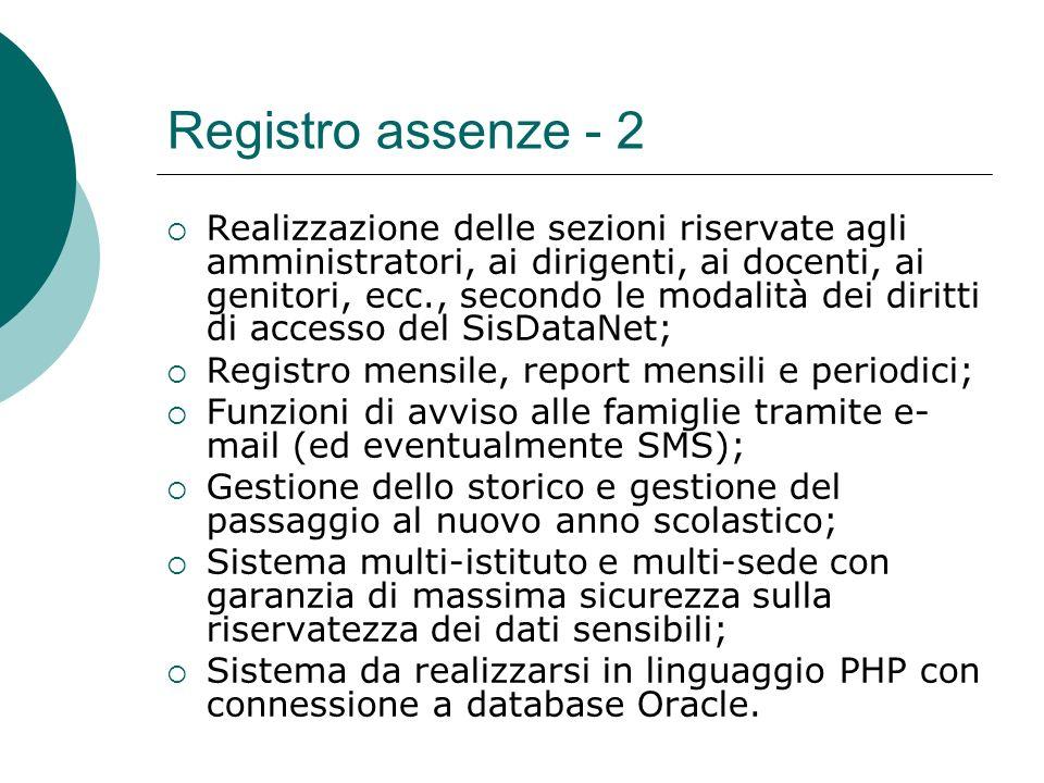 Registro assenze - 2