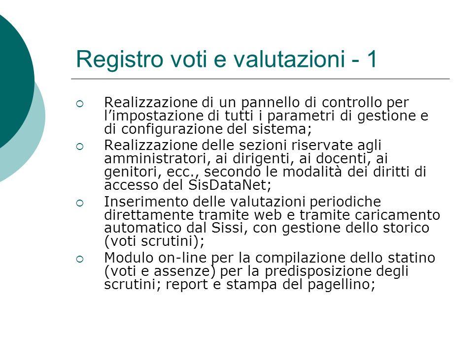 Registro voti e valutazioni - 1