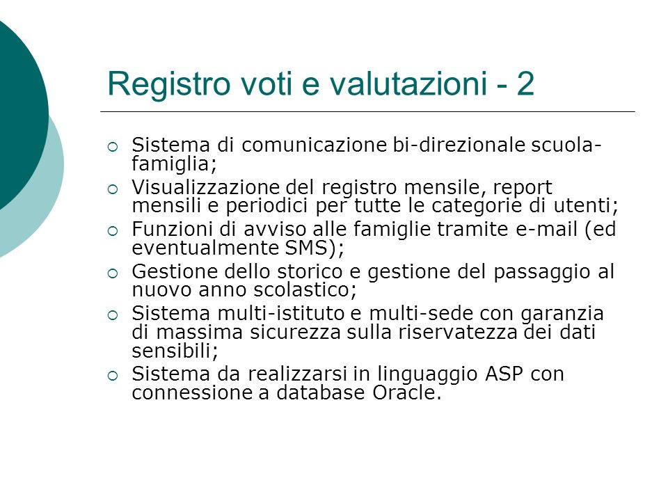 Registro voti e valutazioni - 2