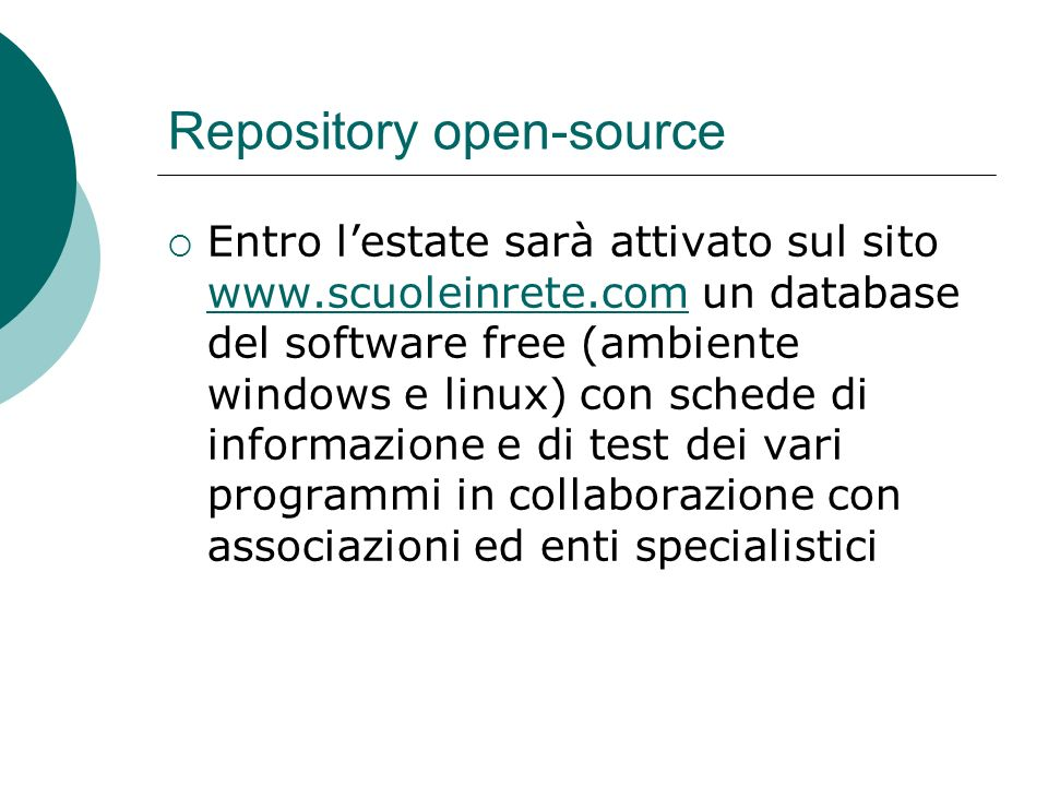 Repository open-source