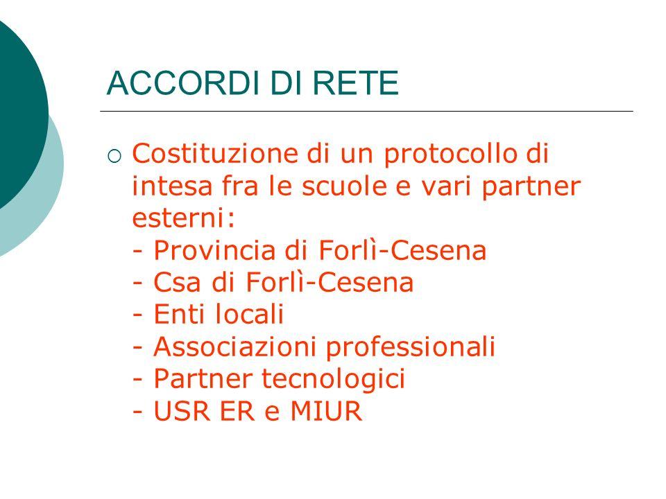 ACCORDI DI RETE