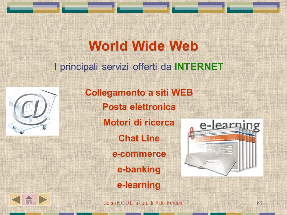 Collegamento a siti WEB