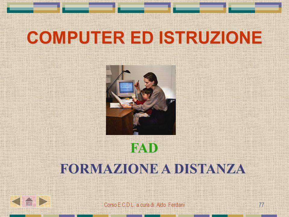 COMPUTER ED ISTRUZIONE