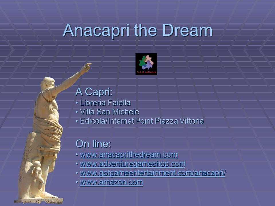 Anacapri the Dream A Capri: On line: Libreria Faiella