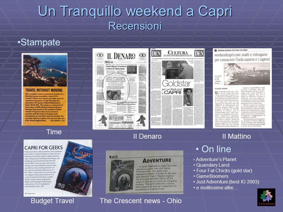 Un Tranquillo weekend a Capri Recensioni