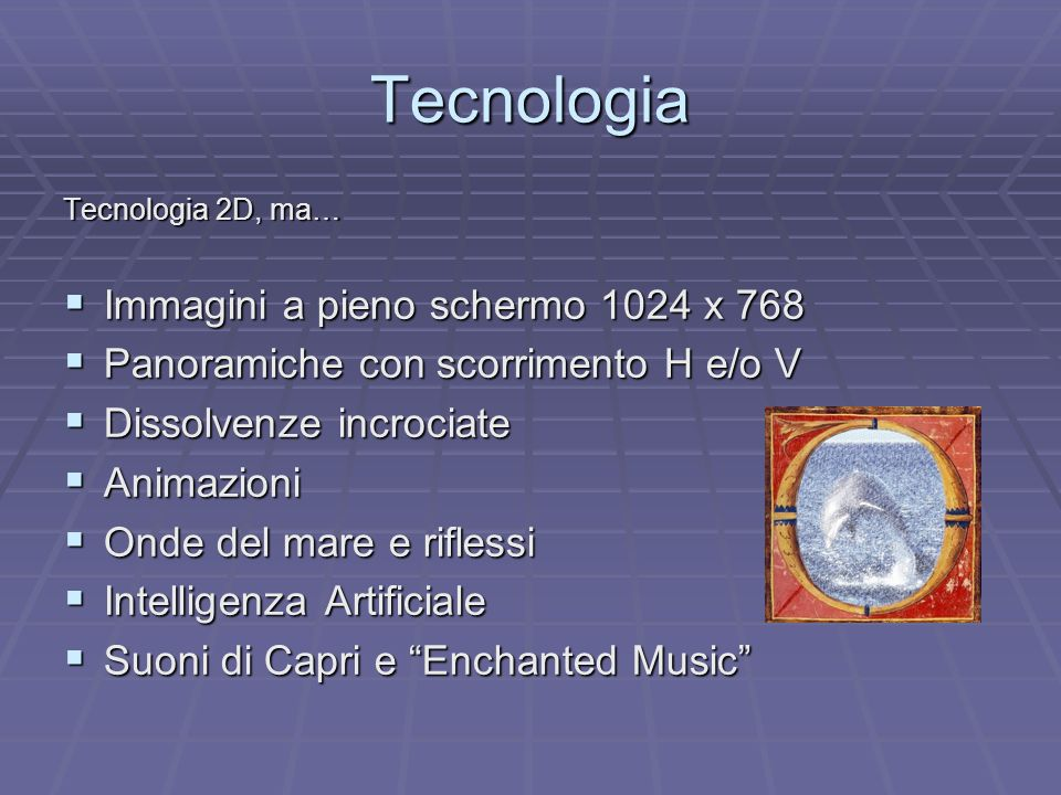 Tecnologia Immagini a pieno schermo 1024 x 768