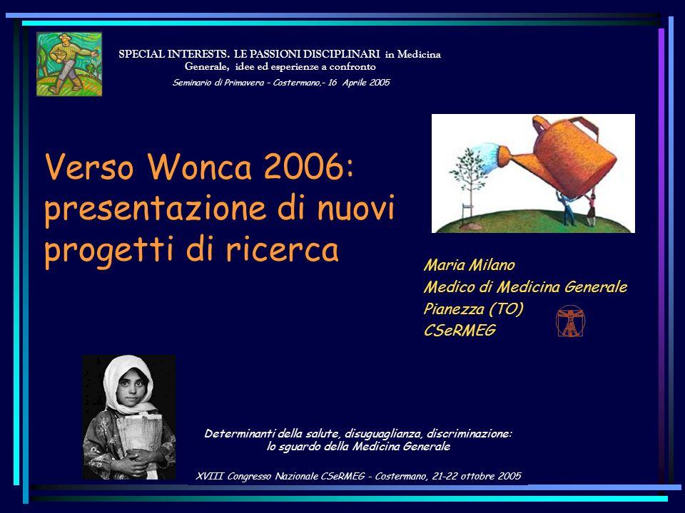 Maria Milano Medico di Medicina Generale Pianezza (TO) CSeRMEG