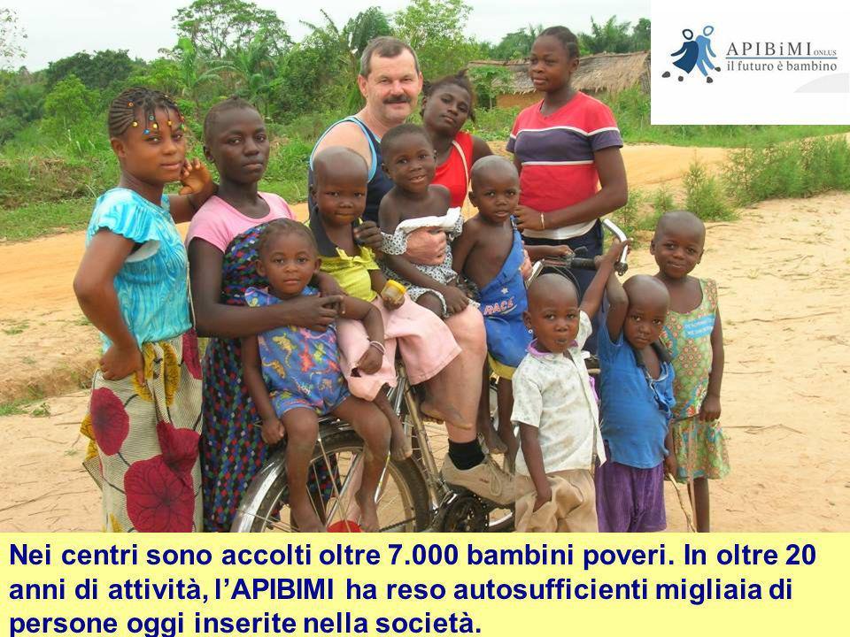 Nei centri sono accolti oltre 7. 000 bambini poveri