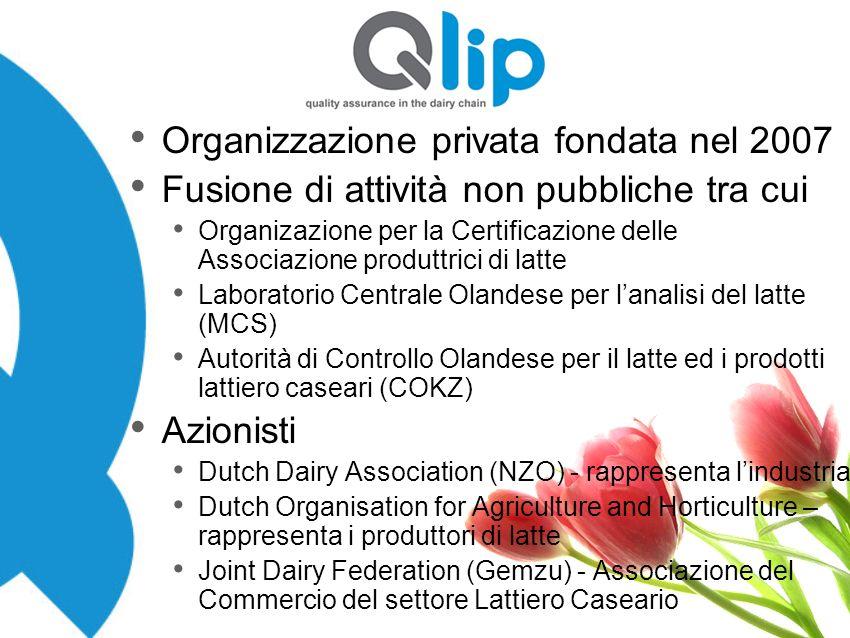 Organizzazione privata fondata nel 2007