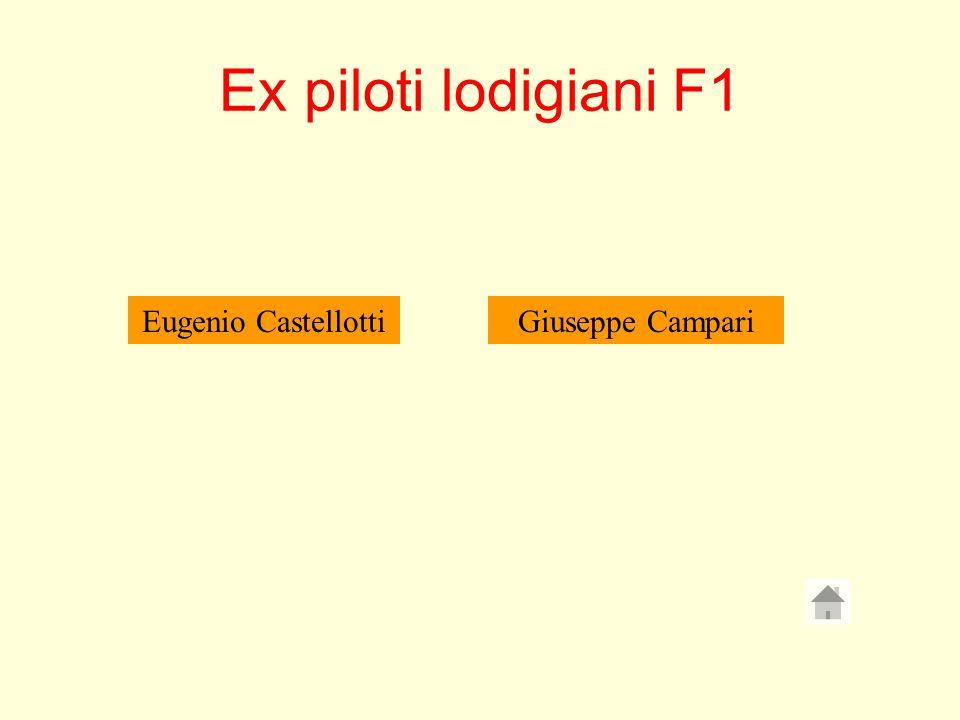 Ex piloti lodigiani F1 Eugenio Castellotti Giuseppe Campari