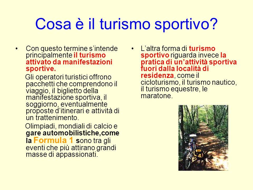 Cosa è il turismo sportivo